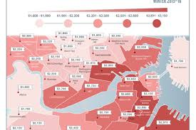 Boston 1 Bedroom Apartments by Boston U0027s Most Expensive Areas For Renting A 1 Br Apartment