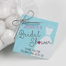 personalized bridal shower gifts personalized bridal shower gift tags the dress