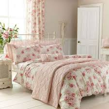 Dunelm Mill Duvets Annabella Pink Reversible Duvet Cover And Pillowcase Set Dunelm