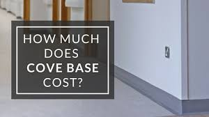 how much does it cost to install base cabinets how much does cove base cost
