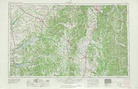 Map Of Nashville Tn Tennesse Historical Topographic Maps Perry Castañeda Map