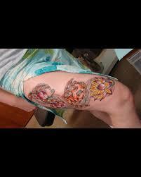 lung cancer ribbon tattoos designs cool tattoos designs