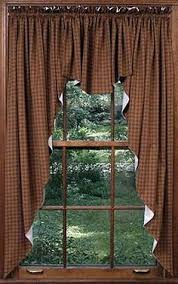 Country Rustic Curtains We Offer A Great Selection Of Country Primitive Curtains On Our