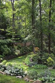 Shady Backyard Ideas Landscaping On A Slope And Dealing With An Abundance Of Shade In