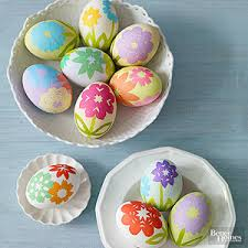 easter dying eggs creative ways to dye easter eggs from better homes and gardens
