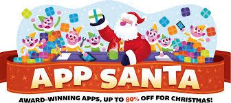 app santa award winning apps up to 80 off for christmas