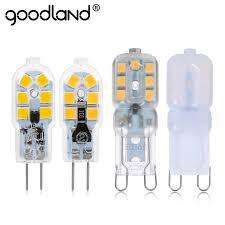 Spotlight Chandelier Goodland G4 G9 Led L 3w 5w Led Bulb Ac 220v Dc 12v Smd2835