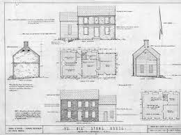 residential building plan section elevation pdf descargas