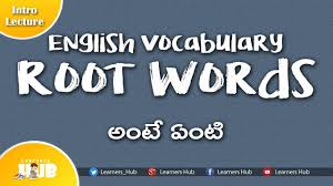 english vocabulary root words prefixes suffixes introduction