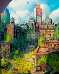 Map Of Gotham City Batman Gotham City Batman Gotham City Gone Wild