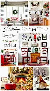 Country Homes And Interiors Christmas Golden Boys And Me Our Christmas Family Room