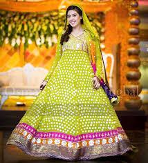 pakistani mehndi dresses 2017 for wedding brides beststylo com