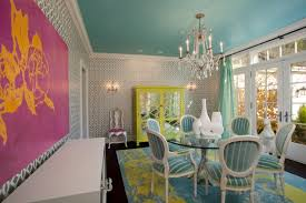 turquoise dining room design ideas