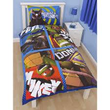 Ninja Turtle Comforter Set Teenage Mutant Ninja Turtles Bedding Single Duvet Cover Sets Boys
