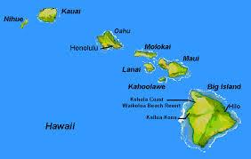 map of hawaii island the hawaiian islands ktc hawaiian kapo trading company