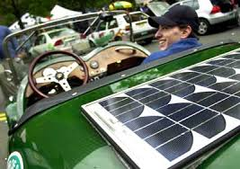 Solar Lights How Do They Work - how can solar panels power a car howstuffworks