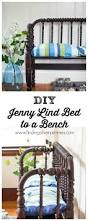 How To Convert A Crib Into A Twin Bed by Diy Jenny Lind Bed To A Bench Finding Silver Pennies