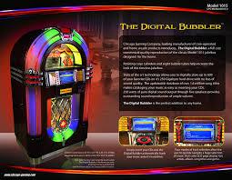 amazon com chicago gaming model 1015 digital bubbler jukebox