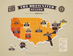 Chicago Brewery Map by Update Map The United States Of Good Beer Good The Usa Beer Map