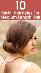 wedding hairstyles for medium hair bridal hairstyles for medium