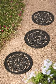 decorative rubber stepping stones buy from gardener u0027s supply