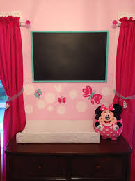 Minnie Mouse Decor For Bedroom 101 Best Minnie Mouse Nursery Images On Pinterest Minnie Mouse