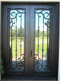 metal front doors with glass front doors with iron and glass google search front doors