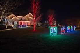 Outdoor Christmas Tree Made Of Lights by Nashville Holiday Outdoor Lighting