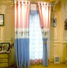 Pink Curtains For Girls Room Top Grade Pink Delicate Embroidery Bird Curtain For Girls Room And