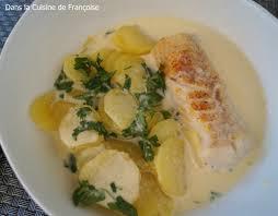 cuisiner un dos de cabillaud dos de cabillaud safrané accompagné de pommes de terre et bouillon