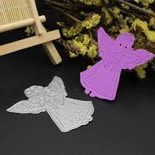 angel metal cutting dies christmas scrapbook card paper craft