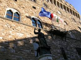 Florence Flag Palazzo Vecchio In Florence Florence U0027s City Hall Since Medieval Times
