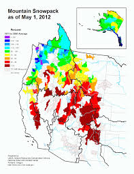 Colorado Snowpack Map The Straight Shot June 2012