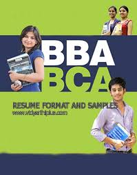 bca resume format for freshers pdf download bba and bca resume format and sles