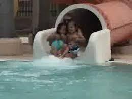 pecos pool slide youtube