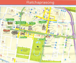 bangkok map tourist attractions bangkok thailand attractions map new zone