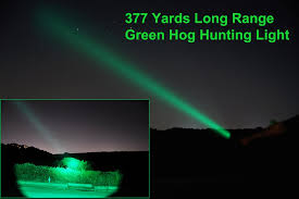 best green light for hog hunting orion m30c green or red 700 lumen 377 yards long range hog predator