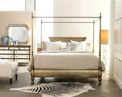 glamorous hooker bedroom furniture montage canopy bed by hooker