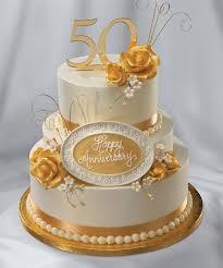 50th anniversary cake ideas lovely golden wedding anniversary cakes pictures wedding picture