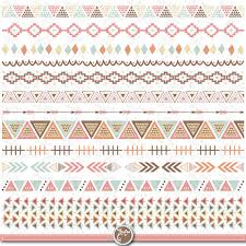aztec ribbon tribal ribbon tribal borders clip aztec
