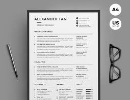 template for professional cv best of 2017 stylish professional cv u0026 resume templates