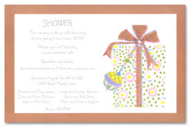bebe gift baby shower invitations myexpression 11995