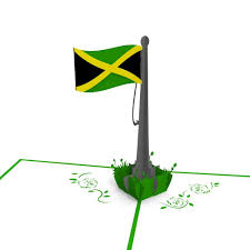 Jamaican Flag Day Jamaican Flag 3d Pop Up Card Lovepop
