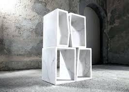 Modular Room Divider Bookcase White Modular Shelving Units Temahome Delta White