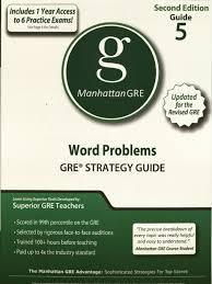 manhattan gre 5 word problems