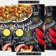 festival brochure template seafood festival premium flyer template exclsiveflyer free