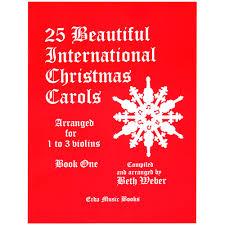 25 international carols erda books shar