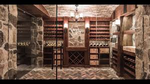 wine cellar design by papro consulting u0027rustic tuscan u0027 youtube