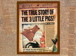 true story 3 pigs wolf told jon