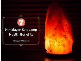 Himalayan Salt Lamp 7 Himalayan Salt Lamp Health Benefits The Happy Health Freak